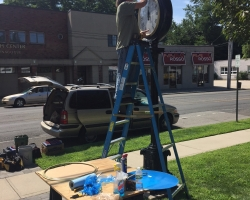Street Clock Restoration