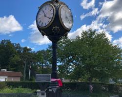 Franklin Lakes Street Clock Restored 3