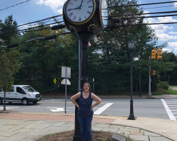 Franklin Lakes Street Clock Restored 5