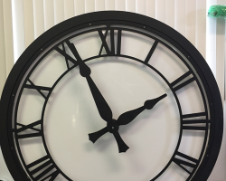 5-foot-canister-clock-with-LED-back-lighting