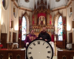 new_clock_dial_holy_family_church_union_city_nj